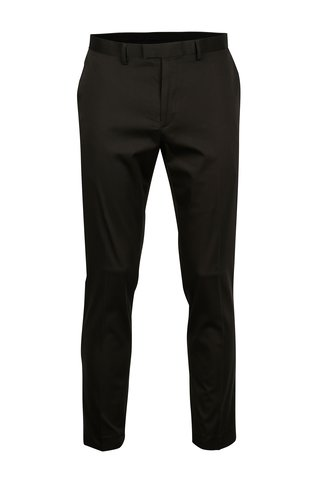 Tmavě šedé pánské skinny fit kalhoty Burton Menswear London