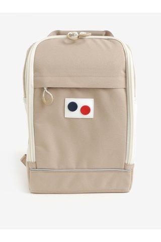 Béžový voděodolný batoh z recyklovaného materiálu pinqponq Cubik small pure 15 l