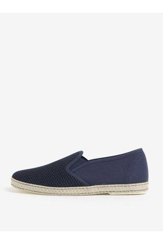 Pantofi slip-on bleumarin pentru barbati Dune London Fencing