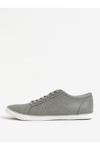 Pantofi sport gri inchis - Burton Menswear London