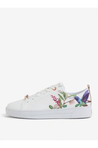 Pantofi sport cu print multicolor si detalii din piele Ted Baker Ahfira