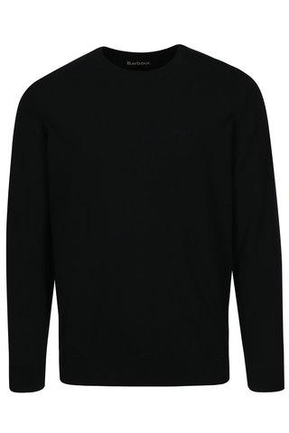 Pulover bleumarin cu logo brodat - Barbour Pima