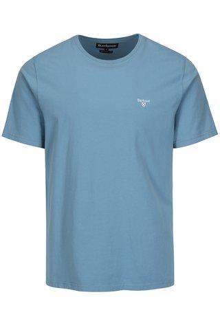 Tricou tailored fit bleu cu logo brodat - Barbour Sports Tee