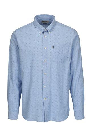 Camasa tailored fit bleu cu print buline - Barbour Owen