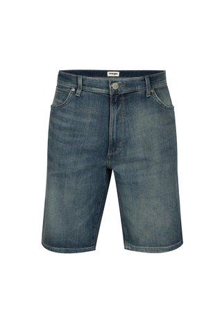 Pantaloni scurti din denim albastri din denim pentru barbati - Wrangler