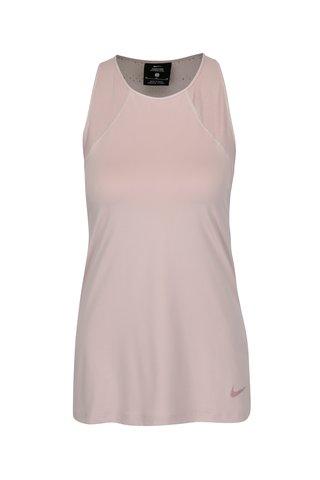 Top sport roz cu decupaje si perforatii - Nike Hprcl Tank