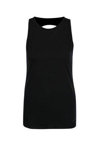 Top sport negru cu decupaj la spate pentru femei  Nike Dry Tank