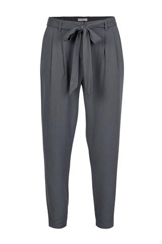 Šedé lehké kalhoty VILA Losta