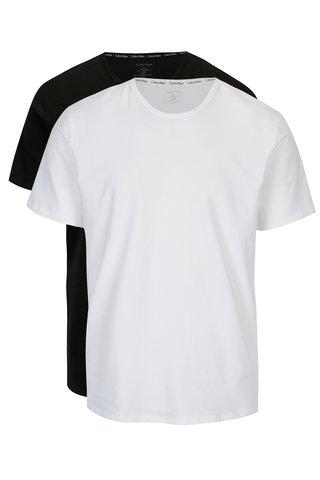 Set alb&negru de doua tricouri modern fit - Calvin Klein