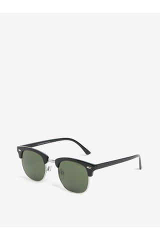 Ochelari de soare cu lentile verzi pentru barbati - Selected Homme Sunday
