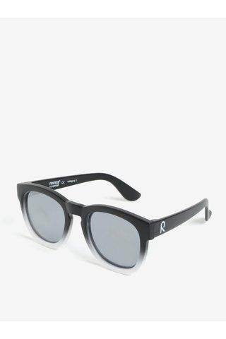 Bílo-černé dětské sluneční brýle Reima Hamina