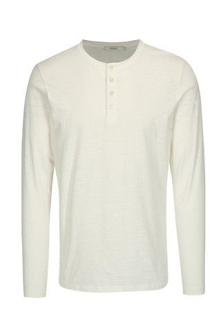 Bluza basic alba cu nasturi - Jack & Jones Wolfsburg
