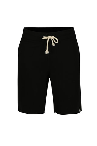 Pantaloni scurti sport negri cu snur in talie - Jack & Jones Colour