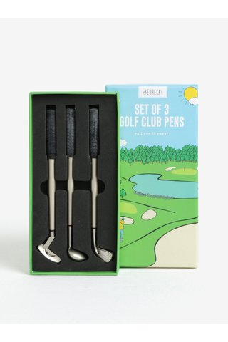 Set de 3 pixuri tip crose de golf - CGB Golf Club