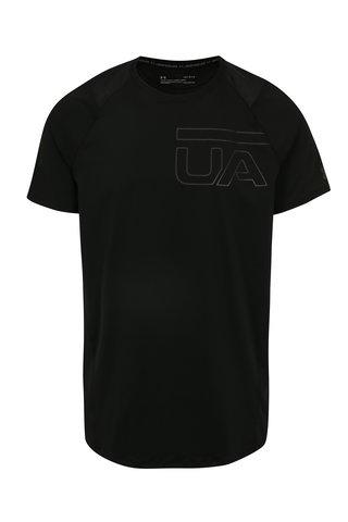 Tricou sport negru cu plasa pentru barbati Under Armour MK1