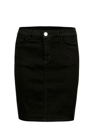 Černá džínová sukně VILA Amy