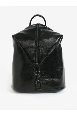 Černý lesklý batoh Claudia Canova Lagoon