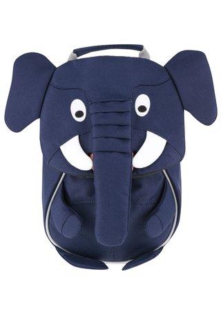Rucsac albastru inchis Affenzahn in forma de elefant