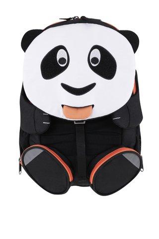 Rucsac negru cu alb Affenzahn in forma de panda
