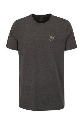 Šedé pánské žíhané tričko LOAP Babar