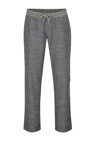 Pantaloni gri melanj cu lungime ajustabila pentru femei LOAP Nadeta