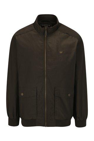 Jacheta maro inchis cu model chevron pentru barbati - BUSHMAN Combat