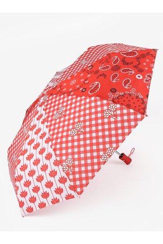 Umbrela pliabila cu print Desigual Dolly