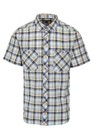 Camasa in carouri albastru & crem pentru barbati - BUSHMAN Creole