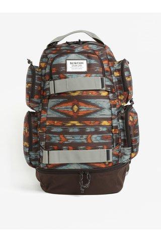 Hnědý vzorovaný batoh Burton Distortion 29 l