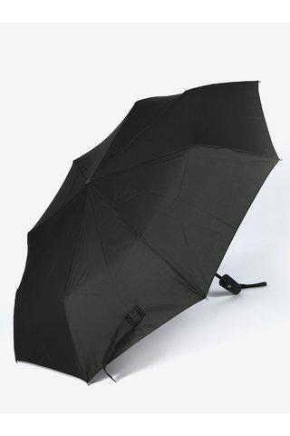 Černý skládací vystřelovací deštník Derby