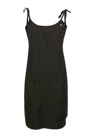 Rochie neagra cu bretele ajustabile LOAP Alara