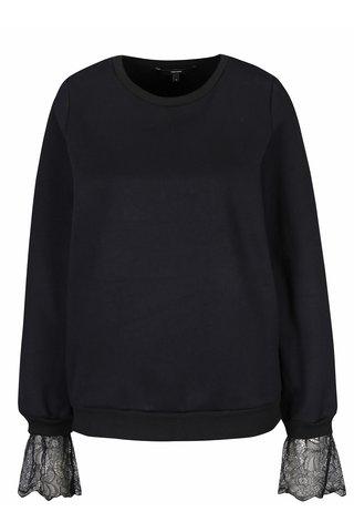 Bluza neagra cu detalii din dantela - VERO MODA Bessie