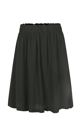 Fusta neagra cu talie elastica Selected Femme Bisma