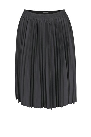 Fusta plisata neagra Selected Femme Kimka