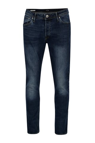Modré slim fit džíny Jack & Jones Tim
