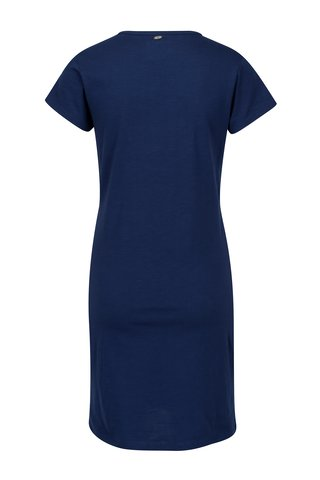 Modré dámské šaty s potiskem Cars
