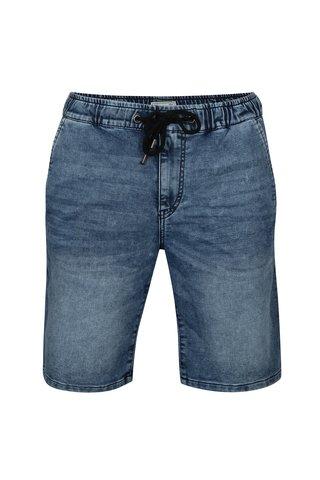 Pantaloni scurti albastri din denim cu aspect prespalat - ONLY & SONS Linus