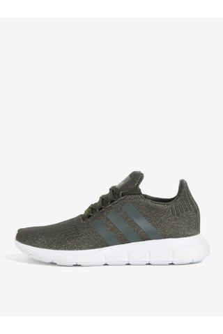 Pantofi sport verzi pentru femei adidas Originals Swift Run