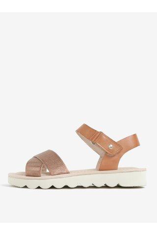 Sandale maro din piele Pikolinos Valencia