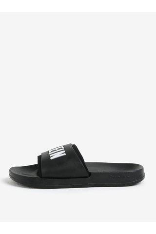 Papuci unisex negri Calvin Klein