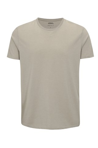 Tricou basic gri regular fit - Burton Menswear London