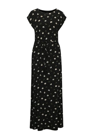 Rochie maxi neagra cu print floral  Dorothy Perkins