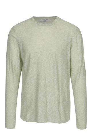 Zelený žíhaný lehký svetr ONLY & SONS Paldin