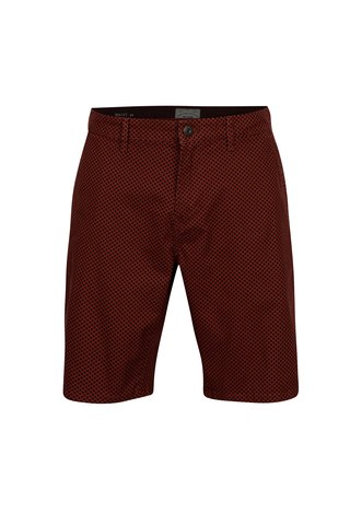 Pantaloni scurti chino maro cu buline - ONLY & SONS Holm