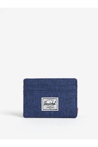 Portcard bleumarin din denim - Herschel Charlie