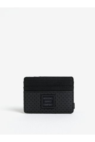 Portcard negru pentru barbati - Herschel Felix
