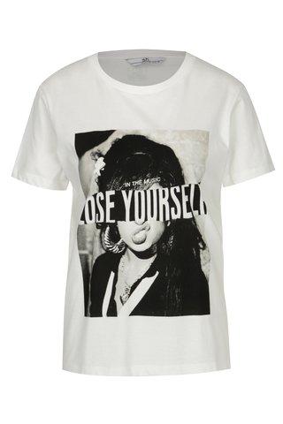 Bílé tričko s potiskem SH Refente