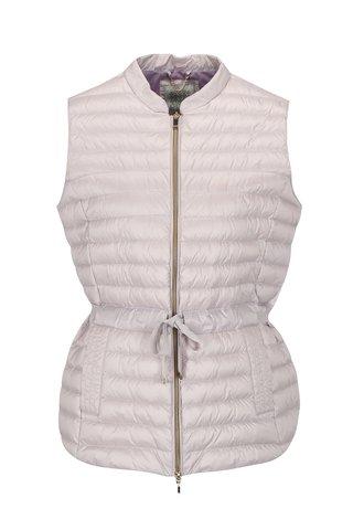 Světle fialová dámská péřová vesta Geox