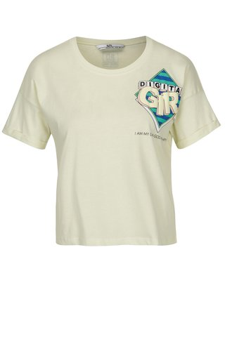 Tricou alb & albastru cu mesaj -  SH Colniza