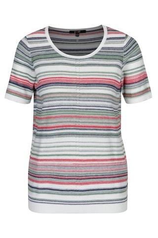Bluza tricotata cu dungi multicolore Yest